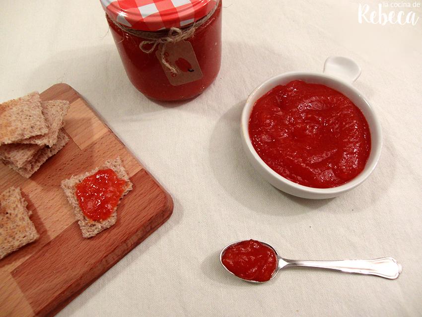 la cocina de rebeca mermelada de pimientos rojos