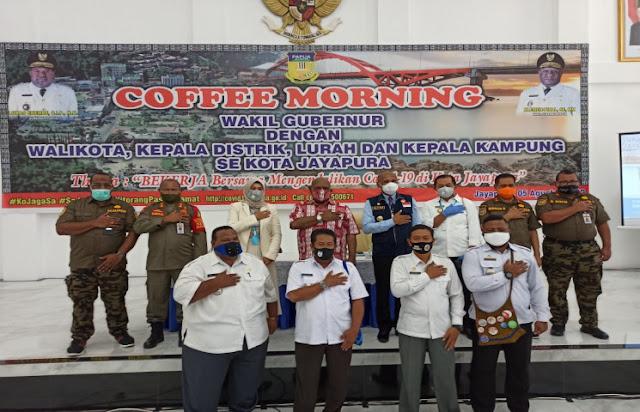 Klemen Tinal Ajak Pemkot Jayapura Samakan Persepsi dengan Pemprov Papua