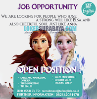 Open Recruitment di TAF English Surabaya Terbaru November 2019
