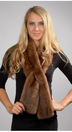 real fur scarves