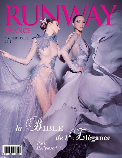 RUNWAY MAGAZINE issue 2014 RUNWAY MAGAZINE cover 2014