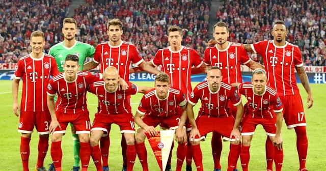 Daftar Nama Pemain Bayern Munchen 2019-2020