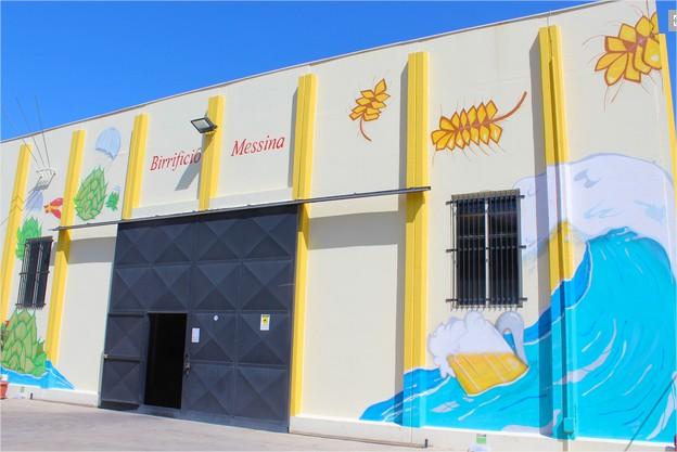Il nuovo stabilimento del birrificio Messina