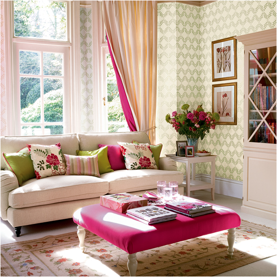 Romantic Rooms And Decorating Ideas: Key Interiors By Shinay: Romantic Style Living Room Design
