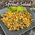 Green gram sprouts salad/ Kosambari style