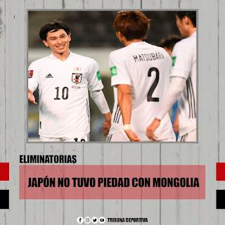 JAPÓN NO TUVO PIEDAD ANTE MONGOLIA