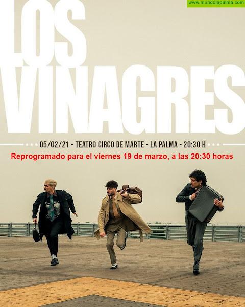 El grupo palmero 'Los Vinagres' actuará este viernes en el Teatro Circo de Marte