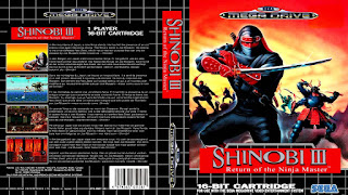 Shinobi III: Return of the Ninja Master (BR) [ SMD ]