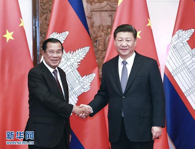 Trung Quốc lại mua chuộc Campuchia để phá tan ASEAN