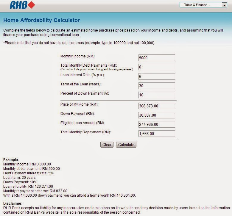 Cimb Bank Personal Loan Calculator