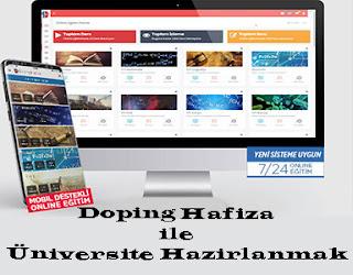 Doping Hafiza İle Üniversiteye Hazirlanmak