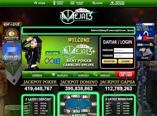 Pusat Judi Meja13 adalah situs judi online game capsa susun