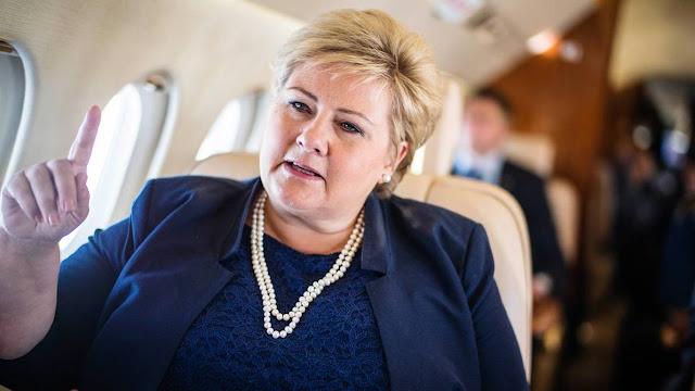 الشرطة النرويجية تفرض غرامة على رئيسة الوزراء