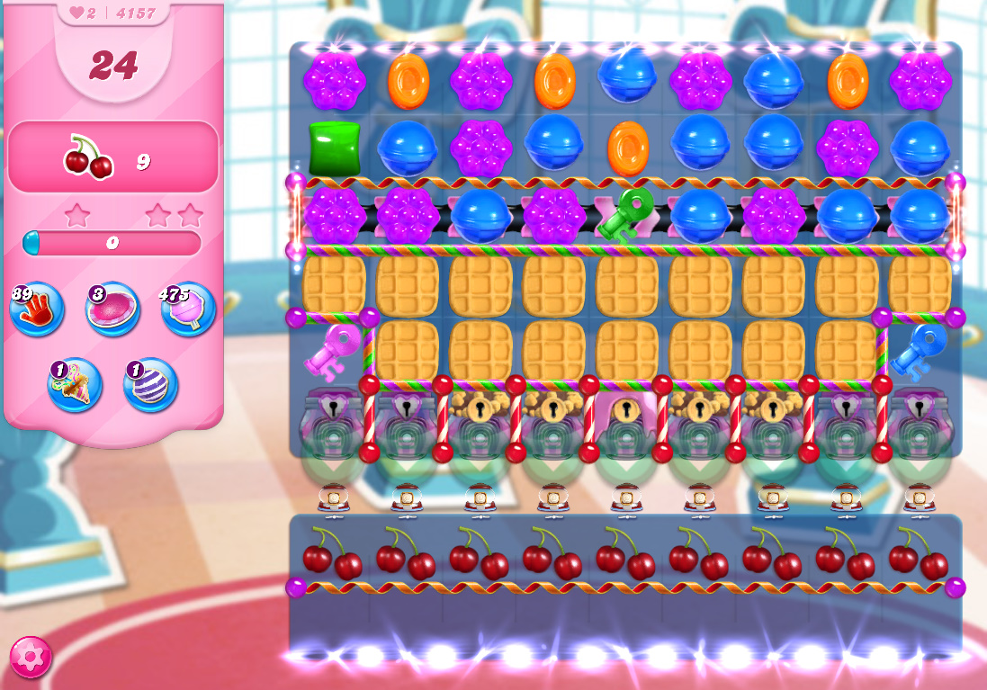 Candy Crush Saga level 4157