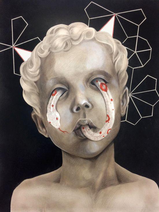 Ceren Aksungur (Dolce Pagane) arte ilustrações surreais macabras sombrias pesadelos