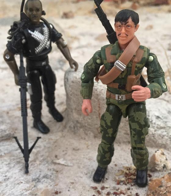 2005 Sgt. Misha, Oktober Guard, Comic Pack, Shimik, Argentina, Red Laser's Army, Bootleg