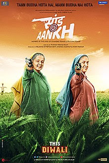 Saand Ki Aankh Budget, Hit or Flop, Bhumi Pednekar, Taapsee Pannu Bollywood movie Saand Ki Aankh Box Office Collection, Screen Count, Running Time