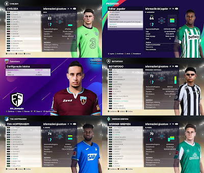 PES 2021 New MiXed Facepack