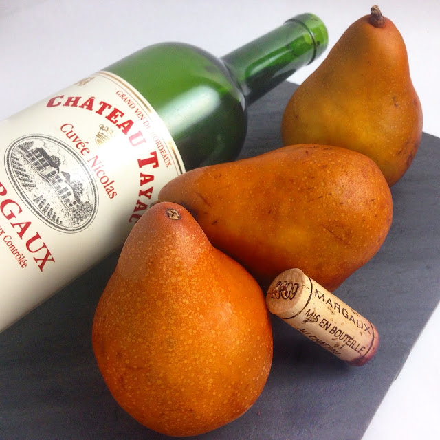 Red Wine and Pears for Poaching
