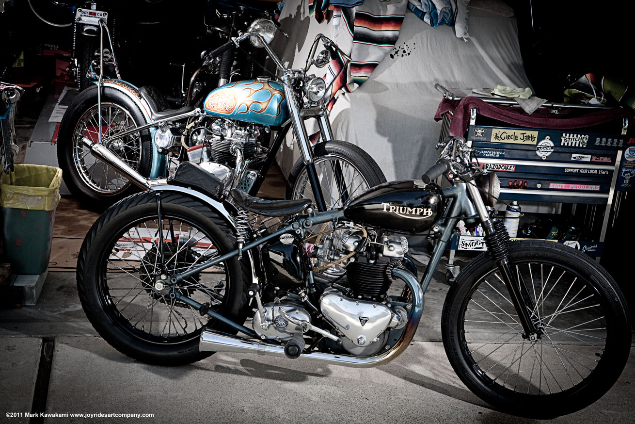 JOYRIDES ART CO: Damon York- EBAY - 1950 6T Triumph Thunderbird