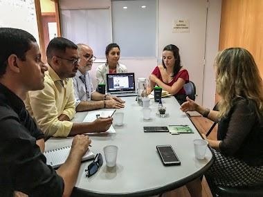 Coordenadora-geral da Bienal se reúne com representantes da Prefeitura de Maceió