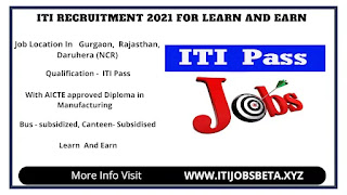 Jobs Vacancies 2021 For ITI Pass In Many Company