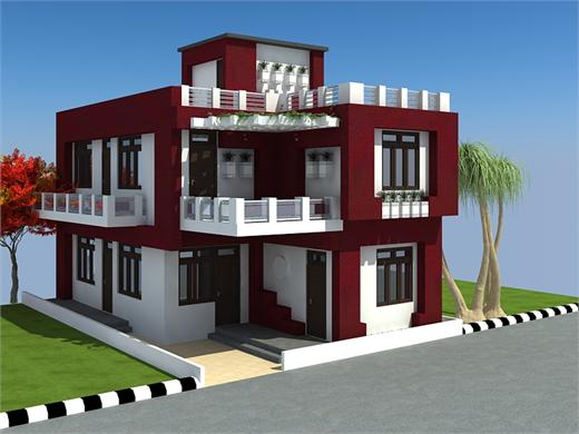 Pimple Gurav Pune Duplex House Design