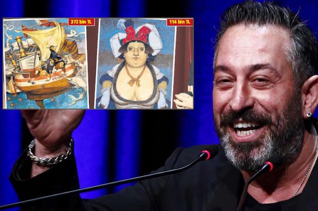Actor turco paga pequeña fortuna por pinturas de artista armenio