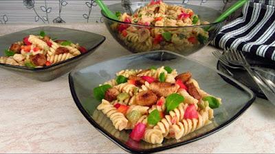 Najbolja salata od piletine s tjesteninom / Amazing chicken salad with pasta