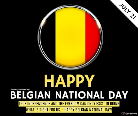 21 [Best] Belgian National Day 2021: Quotes, Sayings, Wishes, Greetings, Messages, Images, Pictures, Poster