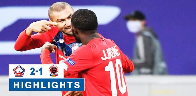 Lille vs Sparta Praha – Highlights