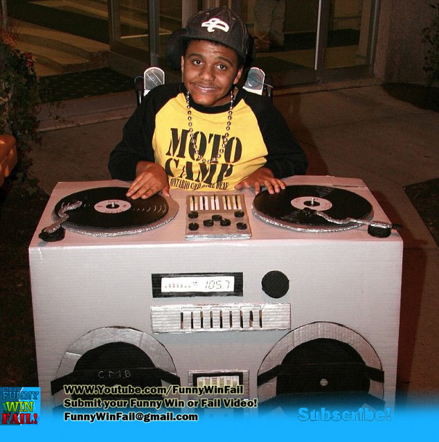 DJ Wheelchair halloween Costume  sc 1 st  The Ryan Award - Funny Pictures and Funny Videos & The Ryan Award - Funny Pictures and Funny Videos: 12 Best Halloween ...