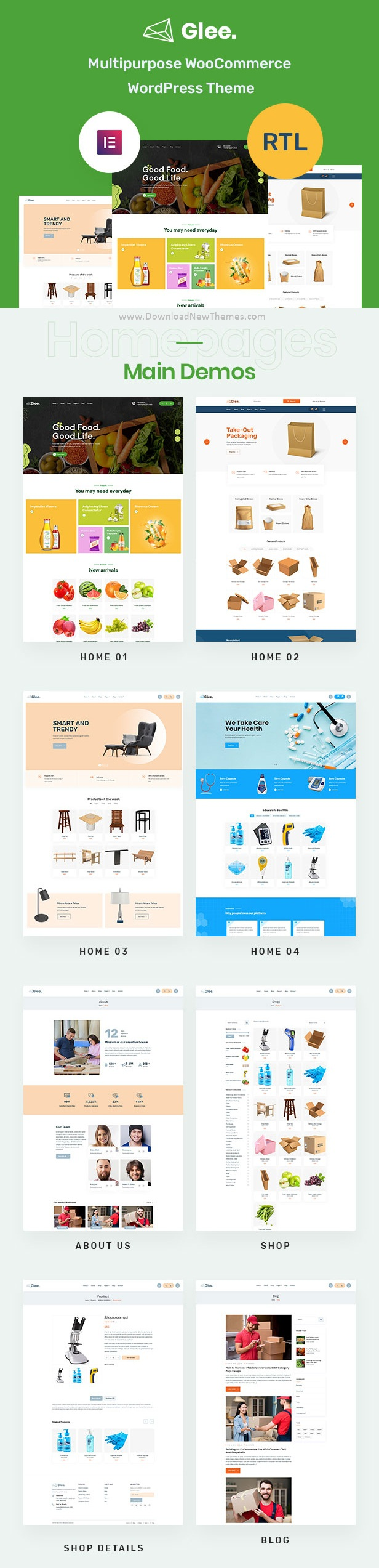 Premium Multipurpose WooCommerce WordPress Theme