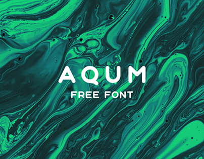 Aqum is free for personal & commercial use. Please download and enjoy, or can search more similar fonts on befonts.