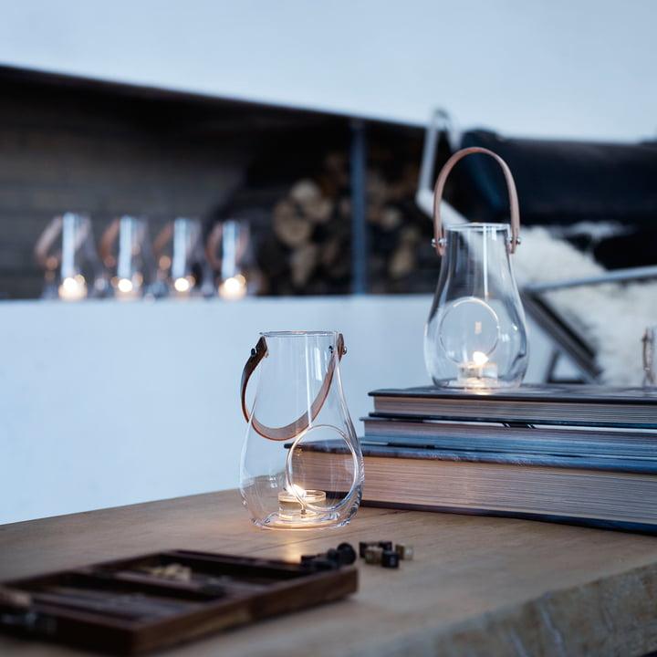 lampiony szklane na świece