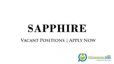 Sapphire Fibres Limited Jobs In Pakistan May 2021 Latest | Apply Now