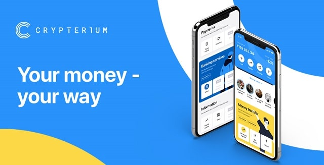 crypterium bank crypto holdings