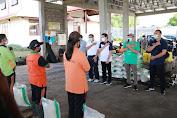 APSI Glontor Sembako untuk Pemilah Sampah TOSS