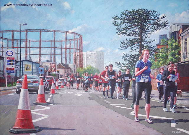northam road sport marathon april 2016 art