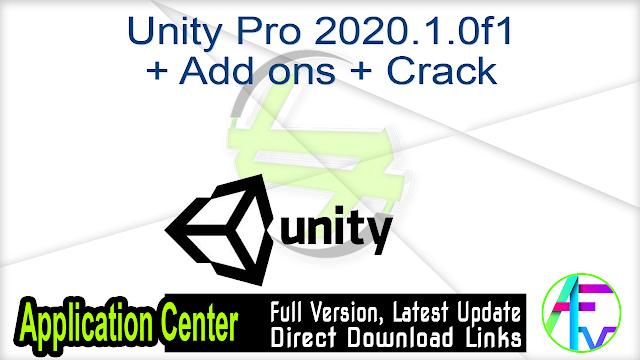 Unity Pro 2020.1.0f1 + Add ons + Crack