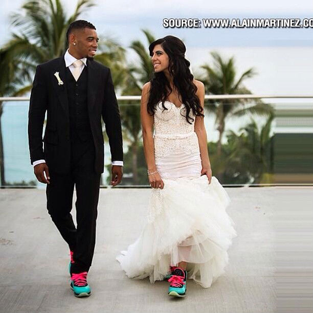 Joe Haden Wedding Shoes