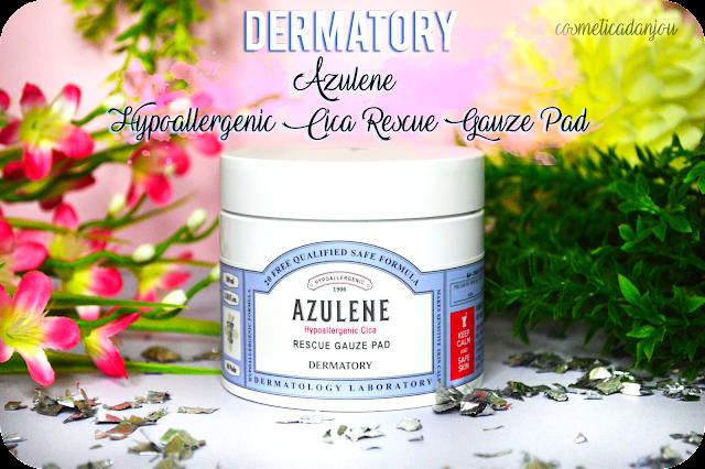 Dermatory Azulene Hypoallergenic Cica Rescue Gauze Pad Review