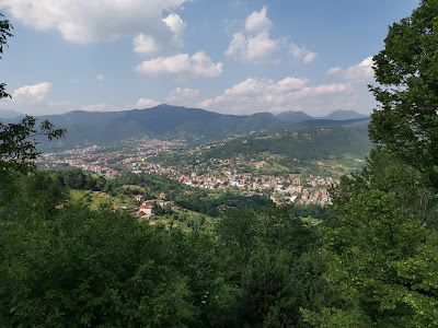 panorama Bergamo alta
