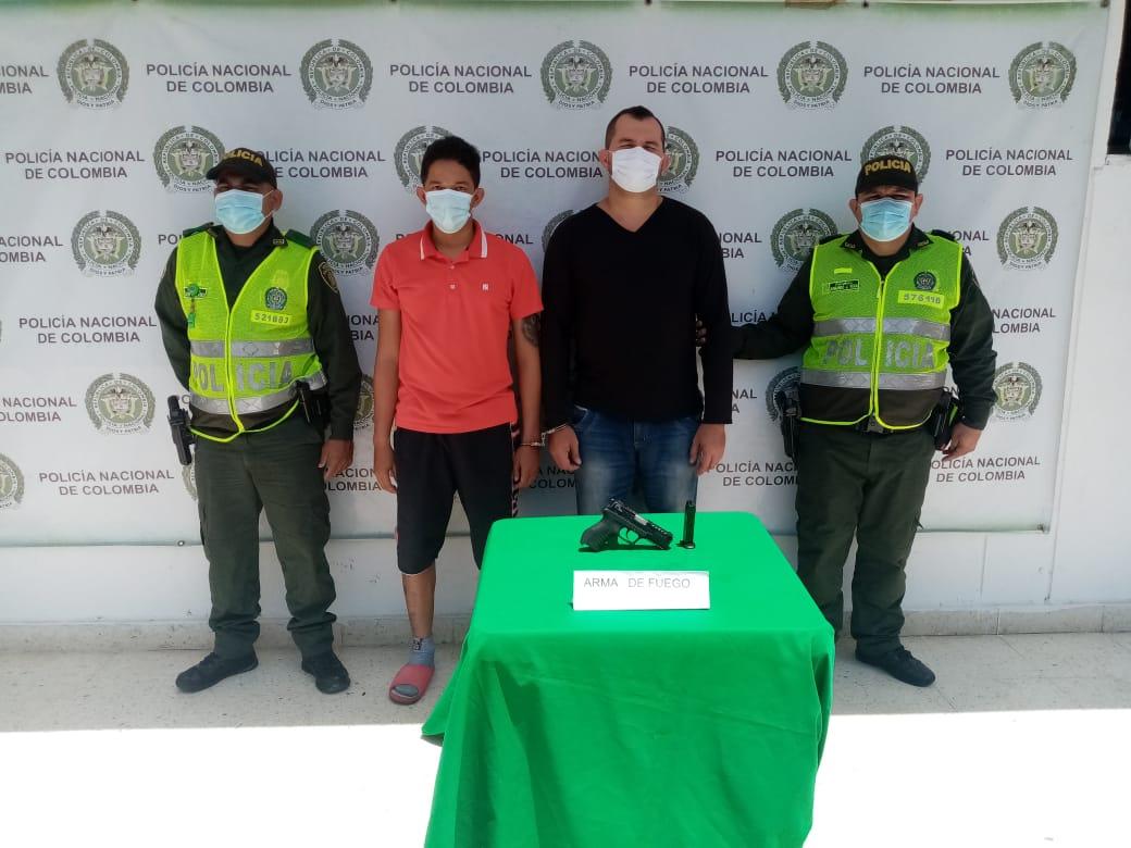 https://www.notasrosas.com/Policía Cesar captura en Aguachica a dos hombres, por el Delito de Homicidio