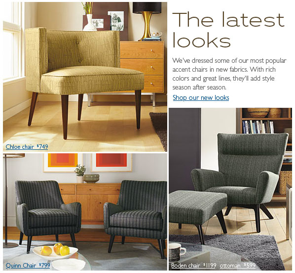 Just Got An Email Today From Room And Board Wow Loving These New Chairs That Chloe Chair Is Amazing