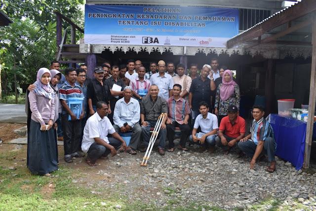Foto Bersama Setelah Pelatihan Peningkatan Kesadaran dan Pemahaman tentang Isu Disabilitas
