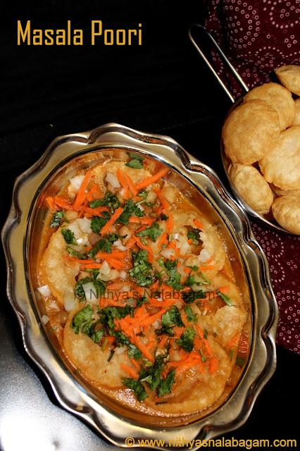 Masala puri recipe my mom's style