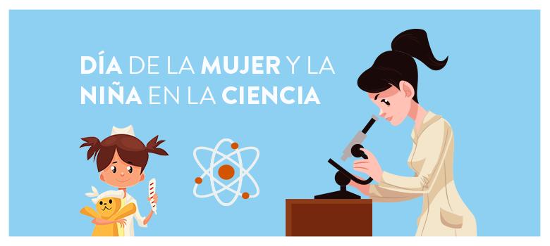 Resultado de imagen de dia de la mujer y niñas en la ciencia