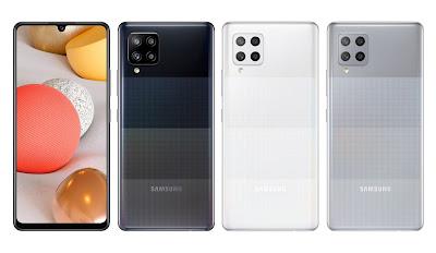 ألوان جوال Samsung Galaxy A42 في السعودية