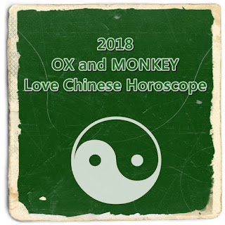 2018 OX and MONKEY Love Chinese Horoscope